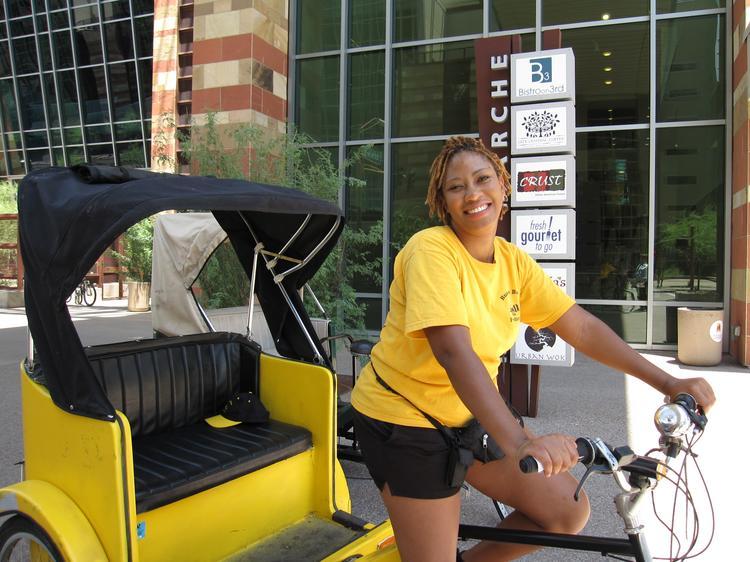 Bumblebee Pedicab Phoenix AZ 623-764-0064